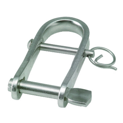 Blue Wave Strip Stainless Steel Key Pin & Bar Shackles