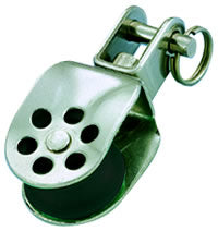 Wichard 25mm Stainless Steel Stanchion Block with Swivel