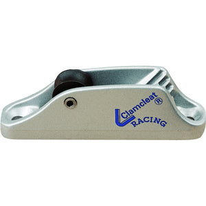 Clamcleat 6mm Roller Fairlead MK1 Racing Junior Silver  CL236/R  CL236