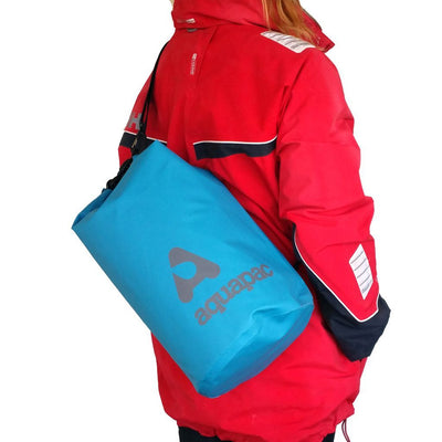 TrailProof Drybag - 15L Blue & Shoulder Strap