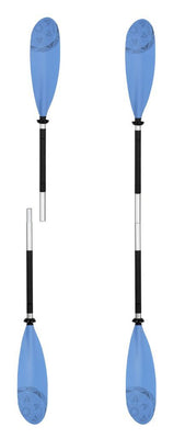 2 Piece KC Kayak Paddle 230cm - this is a Single Paddle that splits into two pieces