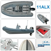 AB Inflatables Alumina 11 ALX Luxury 11ft RIB Packages - Please Select a Package