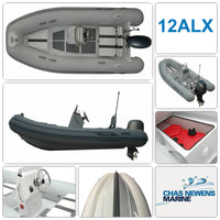AB Inflatables Alumina 12 ALX Luxury 12ft 3.66m RIB & Engine Options