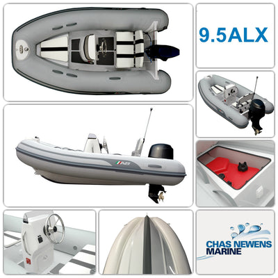 AB Inflatables Alumina 9.5 ALX Luxury 9.5ft RIB Packages - Please Select a Package