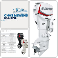 Evinrude ETEC 90hp Outboard Engine