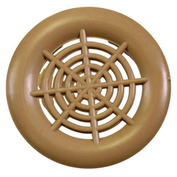 "1-1/2"" Push in Vent Brown - 7087000"