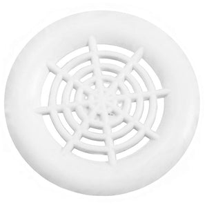 "1-1/2"" Push in Vent White - 7087101"