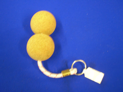 Large Floating Keyring Cork - Double Ball