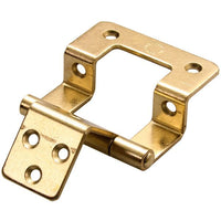 Double Cranked Hinge Brass - HN5503MB
