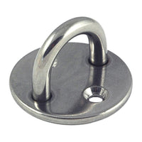 Proboat Stainless Steel Round Eye Deck Plate