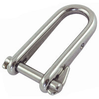 Proboat Standard Stainless Steel Key Pin Shackles