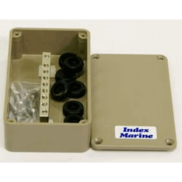 Junction Box With 6 Way Busbar 111x60x31mm 8x10mm Grommets  JBBB6  INA4JBBB6