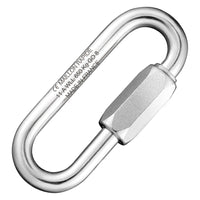 Maillon Rapide Load Stamped Stainless Steel Large Quick Link