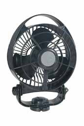 Caframo Bora – Quiet Powerful Fan – 24V Black