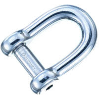 Wichard Forged CE Stainless Steel Allen Pin D Shackles