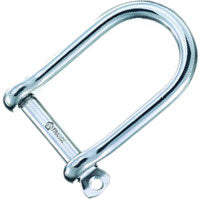 Wichard Forged CE Stainless St Self Locking Wide Shackles