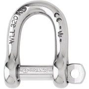 Wichard Forged CE Stainless St Self Locking D Shackles