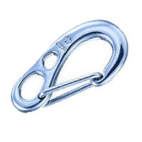 Wichard Forged Stainless Steel HR Safety Snap Hooks