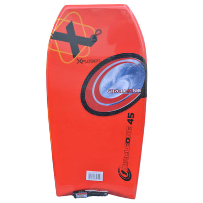45inch Adults Xplosion Series EPS Bodyboard  red