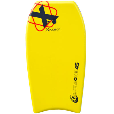 45inch Adults Xplosion Series EPS Bodyboard  yellow