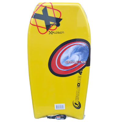 40inch Kids/Adults Xplosion Series EPS Bodyboard  yellow