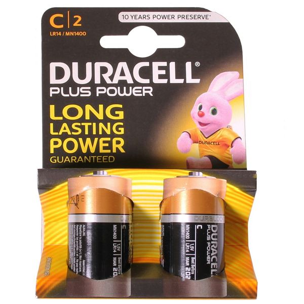 Duracell C Battery (x2) - S3514
