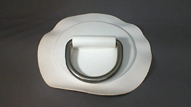 53mm White D Ring Patches