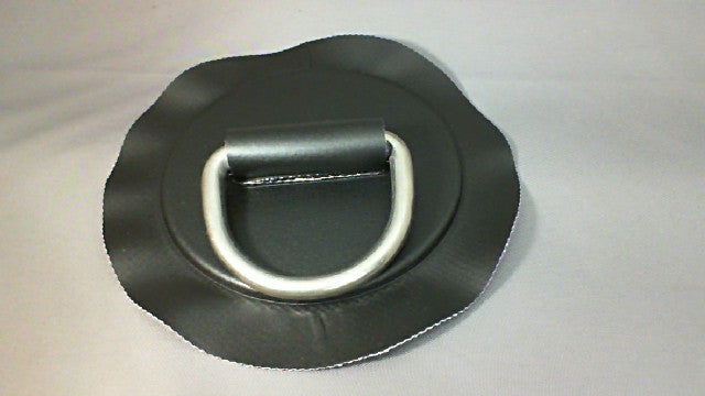 53mm Black D Ring Patches