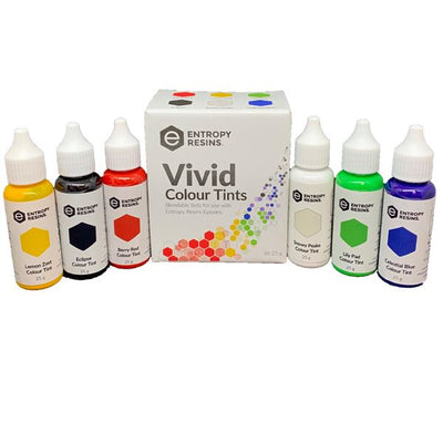 ENTROPY Vivid Colour Tints 25G Pk6