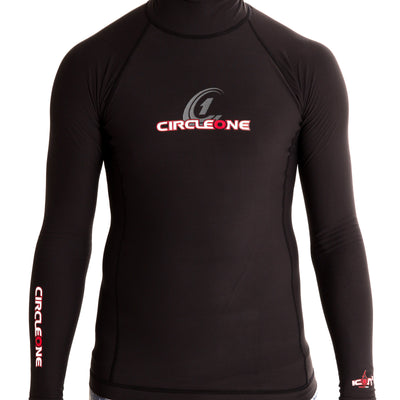 ICON Mens Polypro Thermal Long Sleeve Rash Vest l