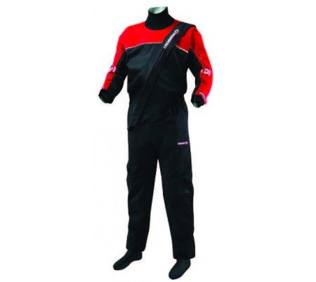 Crewsaver Cirrus ADULT Dry suit - Black & Red