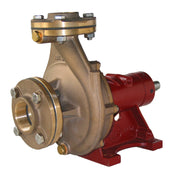 "1½"" Bronze End Suction (Non-self-priming) Centrifugal Pump Bare shaft, Clockwise rotation (when viewed from shaft end). Manual clutch option available. -  CM40D"