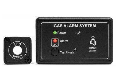 Single Sensor gas alarm - LPG