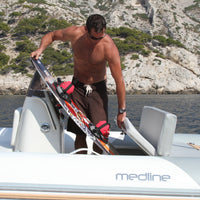Medline 580 RIB with Hypalon Tube & Red or Grey Trim & Trailer