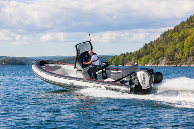 Zodiac 7 Open Sports Rib With Trailer