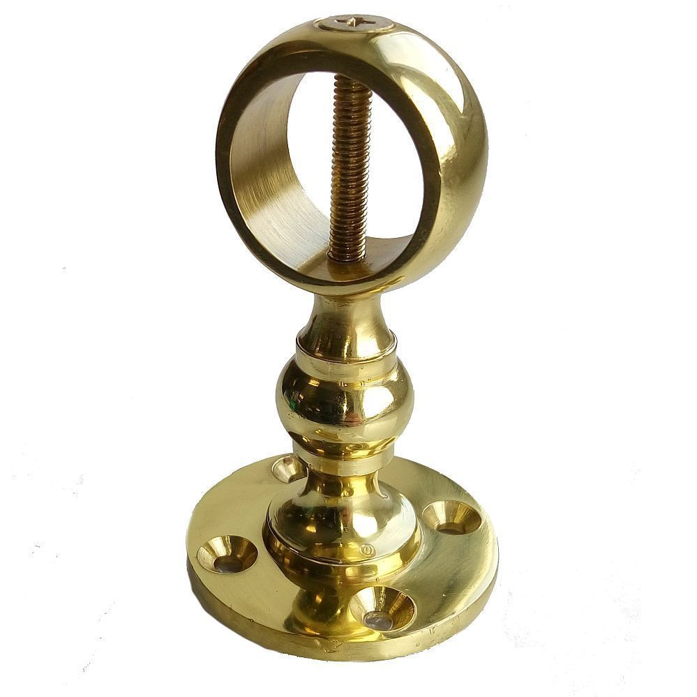 Rope Bannister Brass Bracket Barrier Rope Fitting for 24mm Rope