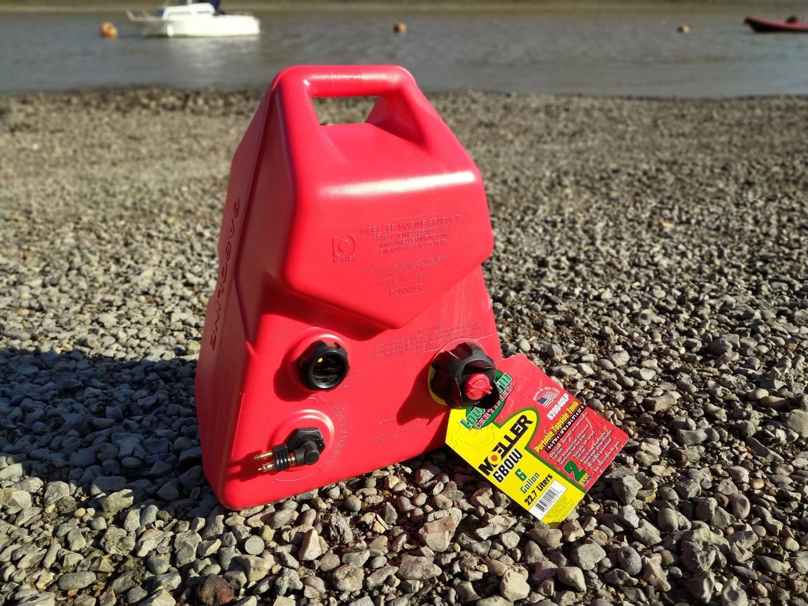 5 Gallon 23 Litre Yamaha Outboard Fuel Petrol Tank to fit Bow of Boat or Dinghy