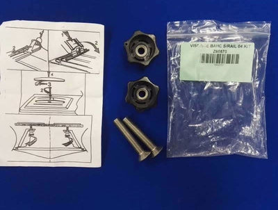 ZODIAC BOMBARD BENCH SEAT SLIDERS BOLTS AND HAND NUTS Z60575 - Z60575