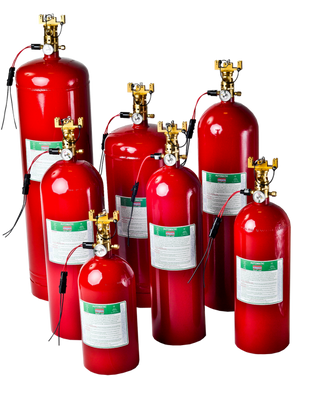 SeaFire NFG Man/Auto Fire Suppression Systems