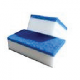Wipeout eraser twin pack with handle