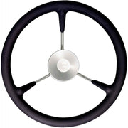 Vetus KS32Z Black Padded Marine Steering Wheel (320mm)  V-KS32Z