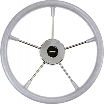 Vetus KS36G Grey Padded Marine Steering Wheel (360mm)  V-KS36G