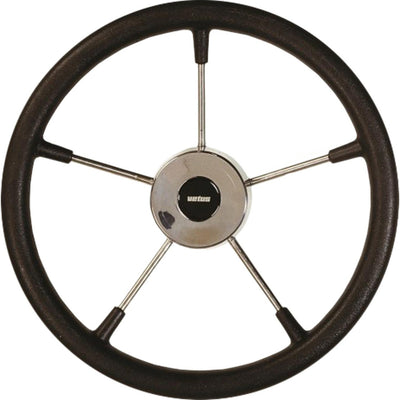 Vetus KS36Z Black Padded Marine Steering Wheel (360mm)  V-KS36Z