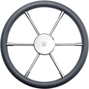 Vetus PRO50P Dark Grey Padded Marine Steering Wheel (500mm)  V-PRO50P