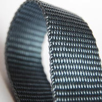 Grey Webbing Strap 35MM - PRICE PER METRE