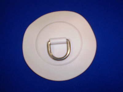 Inflatable Boat 25mm D Ring Patches white z6127
