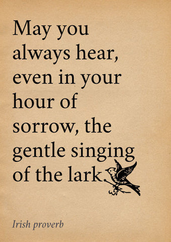 Singing of the lark