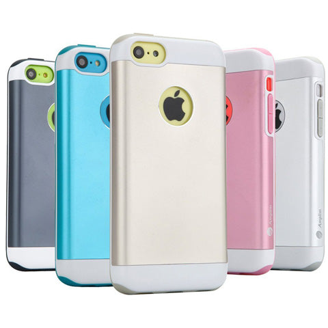 iPhone 5C Gray/Blue/Gold/Pink/Silver Case