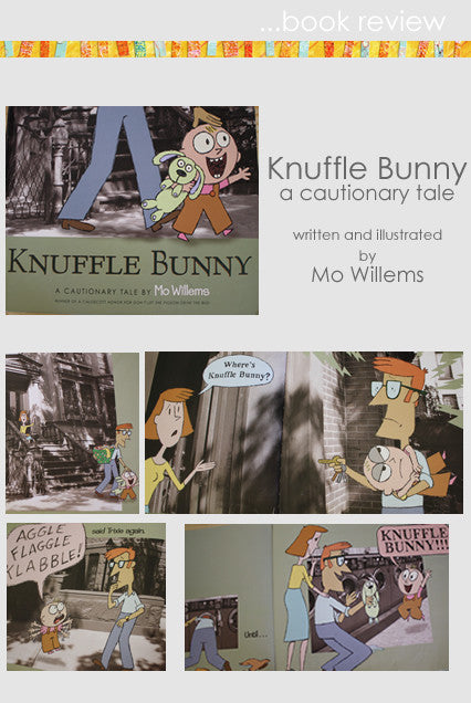 Book Review- Knuffle Bunny