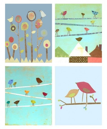 Birds Collection 8x10